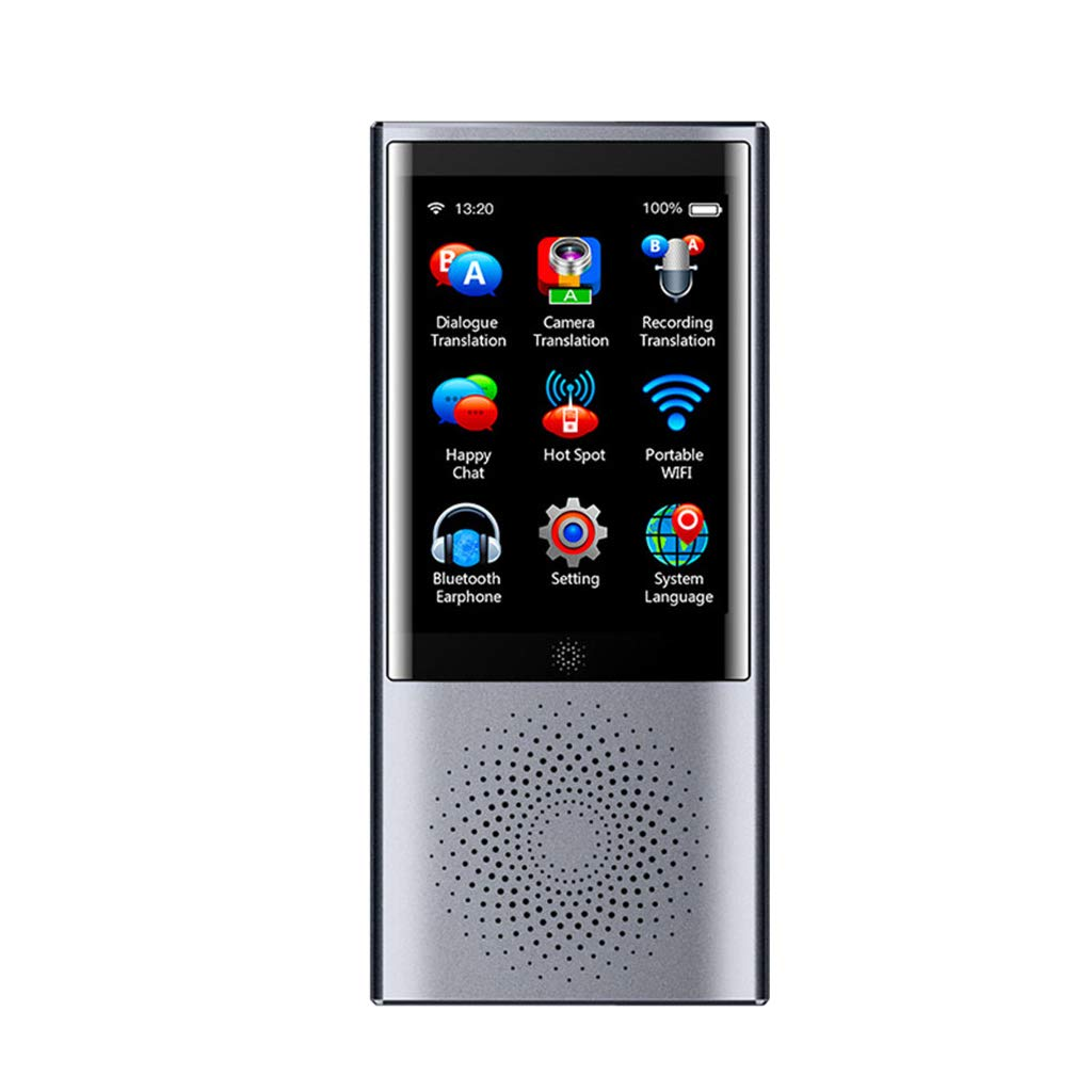 Almencla Offline /Übersetzer Sprach/übersetzer Elektronisch 45 Sprachen /Übersetzer Sprach/übersetzungsger/ät Bluetooth 4.0 Silber