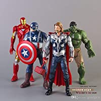 World of Needs 4 in 1 Avengers Age of Ultron Toy Action Figures (Multicolour) WON BRAND