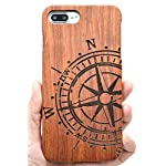 Iphone 7/8 wooden case, phantomsky[luxury series] premium quality handmade natural wood cover for your smartphone… 10 handmade natural eco-friendly wood makes the distinctive style and easy-to-use. Unique and authentic pattern makes your smartphone look more attractive. Elegant design, superior quality wood material make your smartphone and tablet stand above others!