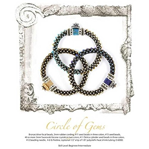 Beading Patterns Printed Pattern Circle of Gems by Tamara Scott Designs