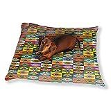 Apache Patchwork Dog Pillow Luxury Dog Cat Pet Bed