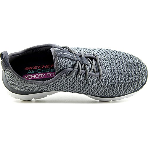 Skechers Flex Appeal 2.0-Bold Move, Entrenadores para Mujer Gris (Charcoal)