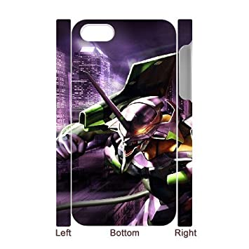 Cartoon Neon Genesis Evangelion for iphone 4 4S 3D Phone ...