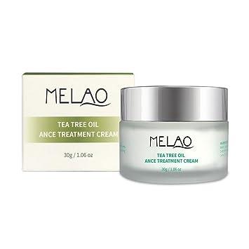 Crema de tratamiento de acné, crema hidratante para el día de la piel y la