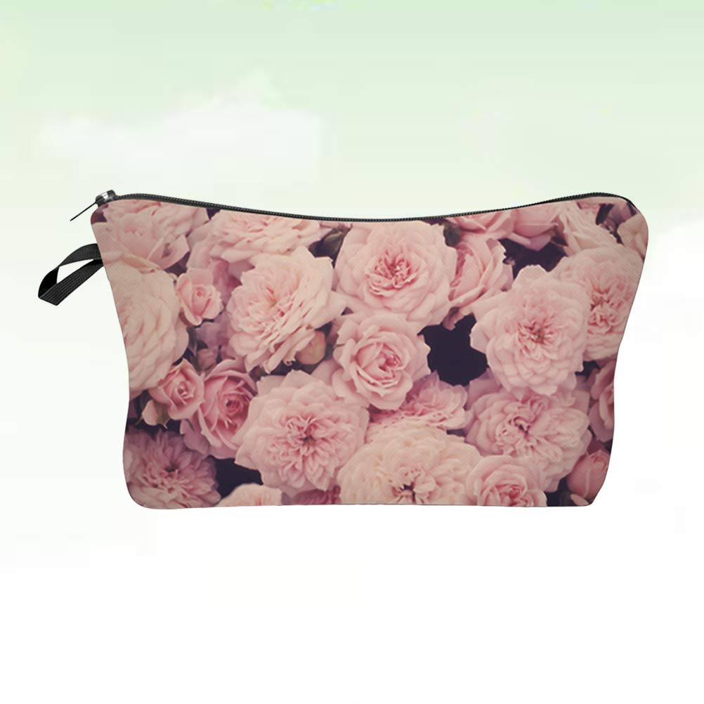 Wrap Purse Gifts For Her Gifts Under 10 Makeup Brush Bag Floral Purse Jewellery Wrap Hibiscus Purse Flower Makeup Purse