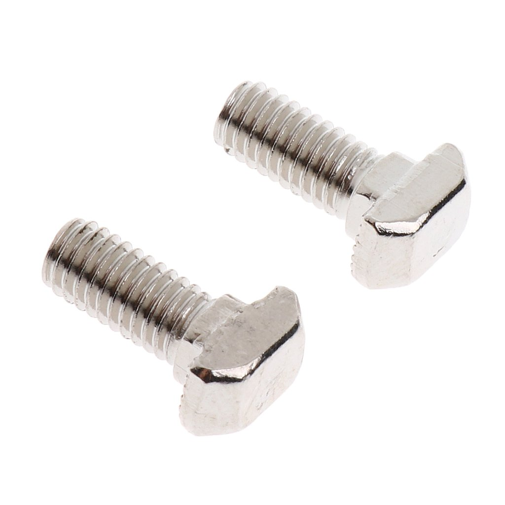 Sharplace M5 Tuercas de Ranura Tipo T Dise/ño de Cabeza de Martillo Herramienta de Trabajo Industrial Durable