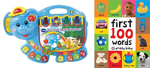 [VTech Touch and Teach Elephant Book & First 100 Words for Kids] (Animals That Start With The Letter B)