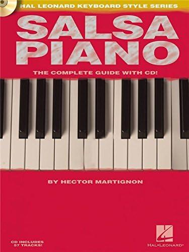 Hector Martignon: Salsa Piano. Partituras, CD para Teclado