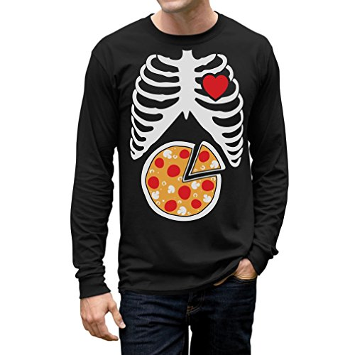 Skeleton Pizza XRay Rib Cage - Pizza Lover