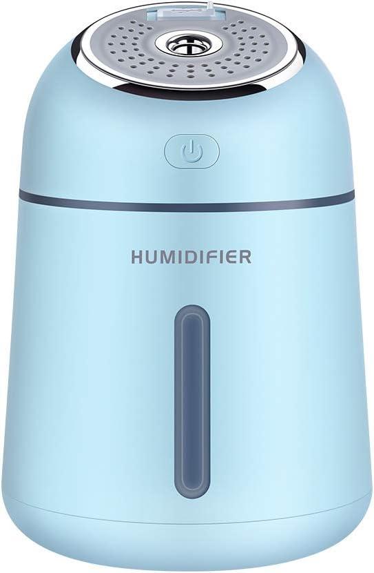 WERNG Mini purificador de Aire con aromaterapia USB, humidificador ...