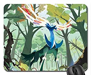 Xerneas Pokemon X and Y Mouse Pad, Mousepad (10.2 x 8.3 x 0.12 inches)