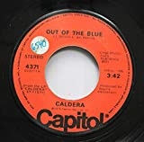 caldera 45 RPM out of the blue / guanacaste