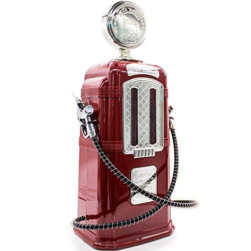 Dispenser Duplo Retrô Bomba Gasolina Bebidas Whisky Pinga licor (vermelho)