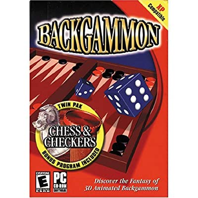 COSMI Backgammon with Chess & Checkers (Windows)
