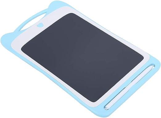 子供がタブレットを描く、タブレットを書く、LCDライティングパッド黒板の色短いメモショッピングリスト予定表を書くための予定の通知(blue)