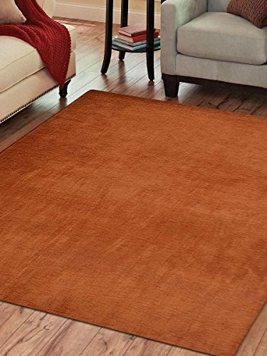 Rugsotic Carpets Hand Knotted Gabbeh Wool Solid 8' for sale  Delivered anywhere in Canada