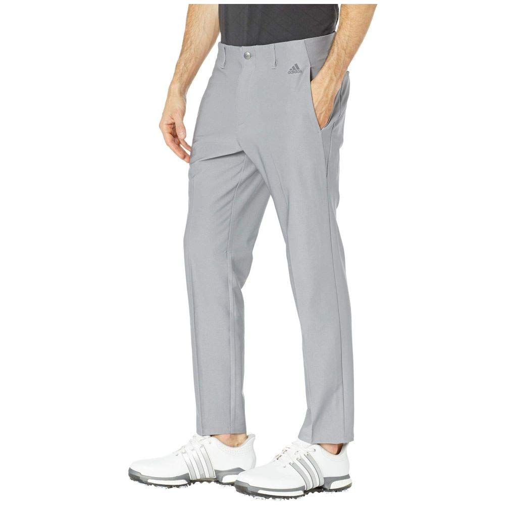 adidas Golf (アディダス) メンズ ボトムスパンツ Ultimate 3-Stripes Tapered Pants Grey Three サイズ34X32 [並行輸入品]   B07NBCB4NK