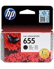 HP 655 Ink Cartridge, Black [CZ109AE]