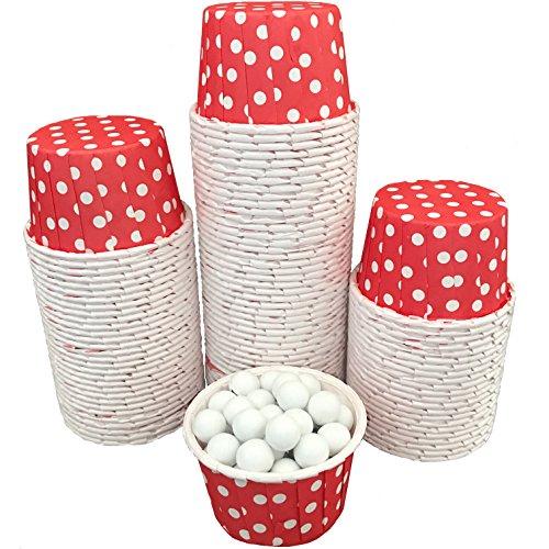 mini baking cups dots - 4