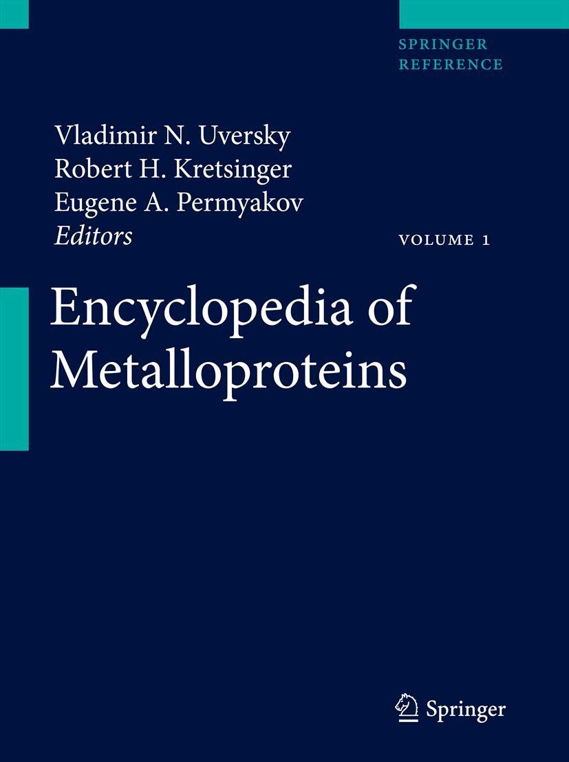 Encyclopedia of Metalloproteins: Amazon.es: Kretsinger ...
