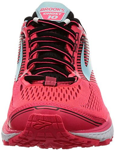 Amazon.com | Brooks Womens Ghost 10 Diva Pink/Black/Iceland Blue 5.5 B US | Running
