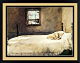 Master Bedroom Master Bedroom By Andrew Wyeth Dog Sleeping 20x17 Inches