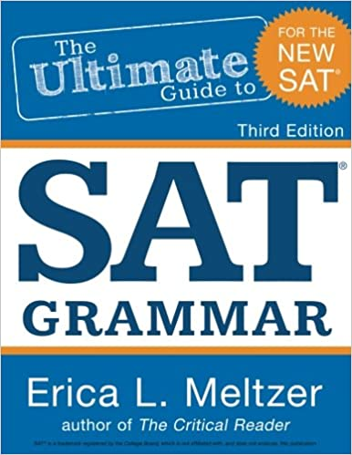 Printables Sat Grammar Worksheets 3rd edition the ultimate guide to sat grammar erica l meltzer isbn 13 978 1511944137