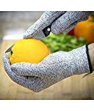 TUZECH Cut Resistant Durable Gloves for Chopper Safety, Grating, Carpentry, etc