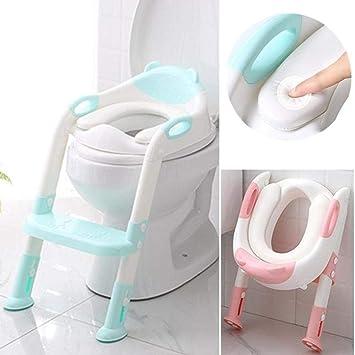 1b93af930bed0 Amazon.com : Benlet Children Toilet Seat Baby Toilet Ladder Folding ...