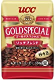 UCC ゴールドスペシャル リッチブレンド コーヒー豆 炒り豆 360g