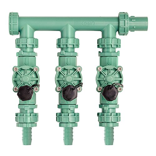 (Orbit 91207 3-Valve Preassembled Manifold, Poly Pipe)