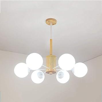 ArañaLa Bcx Madera De Iluminación Lámpara Colgante n0PXOk8w