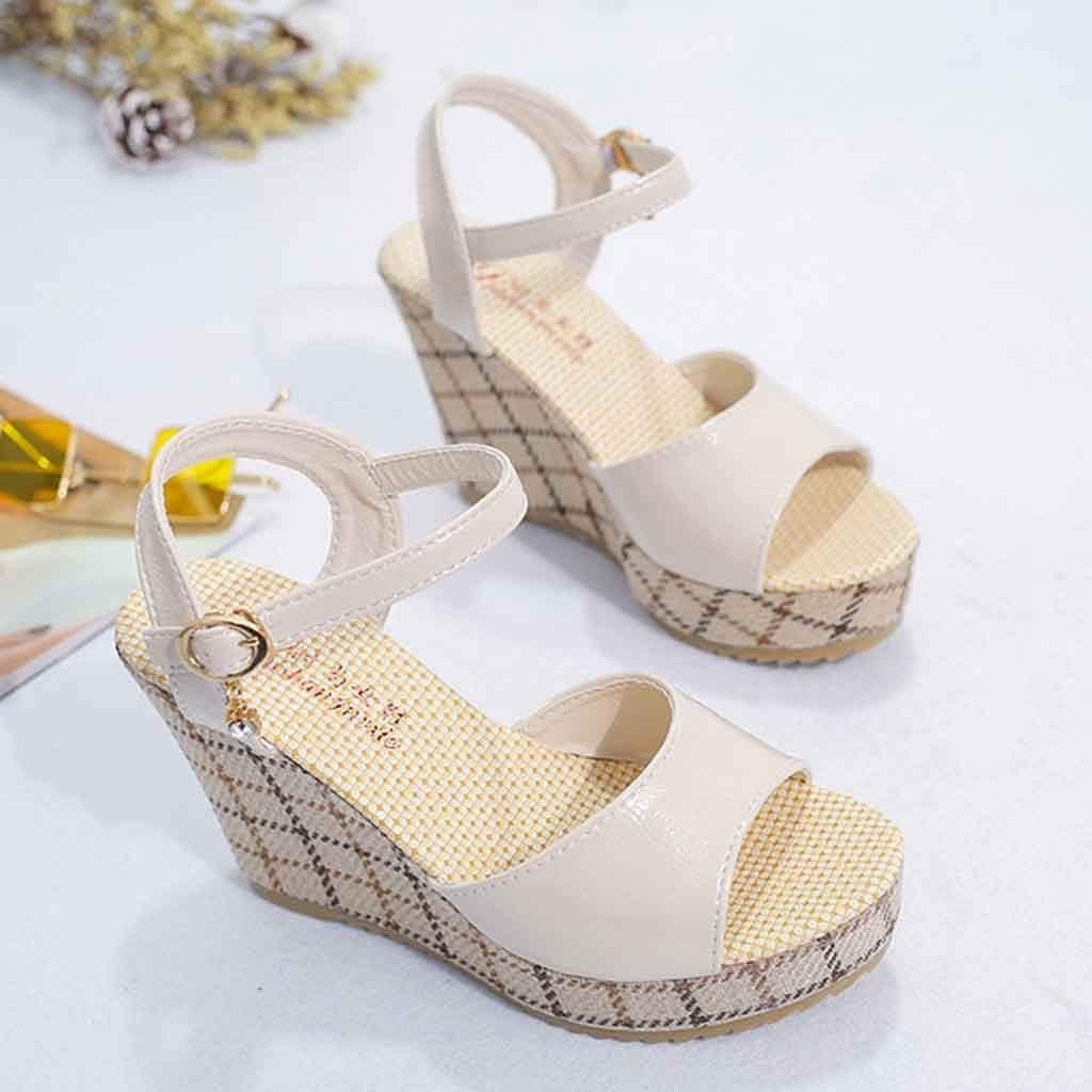 AG&T Zapatos Deportivos de Moda de Mujer Zapatos Blancos Gruesos Lentejuelas de Color sólido Zapatos de Mujer Cabeza Redonda con Zapatos de Estudiante: Amazon.es: Deportes y aire libre