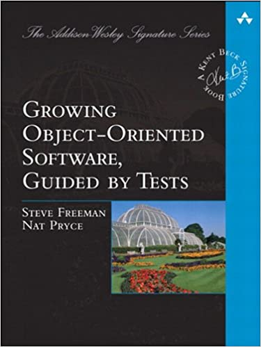 Amazon Com Growing Object Oriented Software Guided By Tests Addison Wesley Signature Series Beck Ebook Steve Freeman Pryce Nat Kindle Store