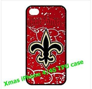 NFL New Orleans Saints iPhone 4/4s Cases Saints logo