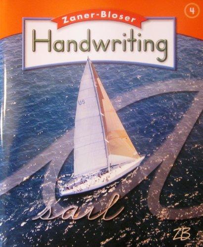 ZANER-BLOSER HANDWRITING; GRADE 4