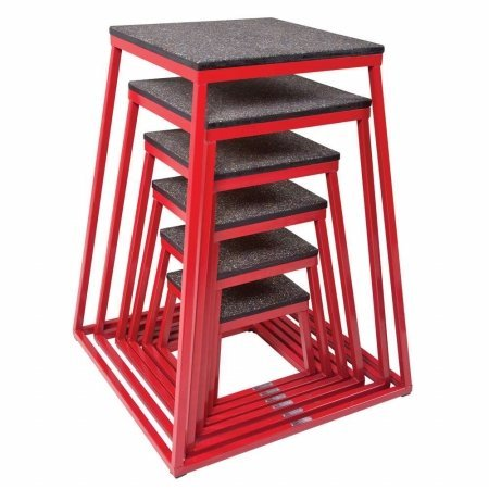 Power Systems Power-Plyo Box, 24 Inches Tall, Red/Black (20526)