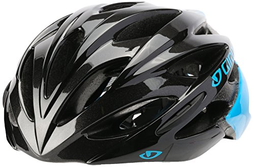 Giro Savant Road Bike Helmet, Blue/Black, Medium (Womens Triathlon Bike)