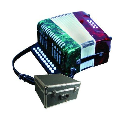 ミラージュB6108GTC 2行のボタンアコーディオン8ベーストライカラーB00E9W1IOC