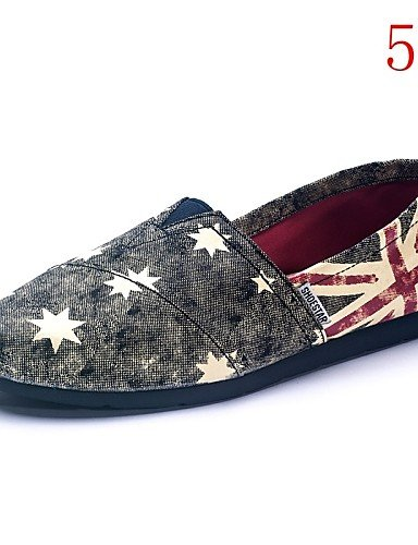 Casual Eu38 Zapatos De us7 Exterior 5 4 Uk5 Cn39 Cn38 5 Comfort Plano us8 Tela Eu39 Gyht 4 Tacón Mujer Zq Uk6 Mocasines Multicolor RCwzzf