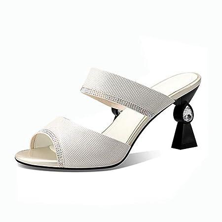 Scarpe Sposa 7 Cm.Sandali Per Donna Tacchi Alti Donna Estate Scarpe Da Sposa Scarpe
