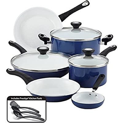 Ultimate PURECOOK Ceramic Nonstick Cookware 12-Piece Cookware Set