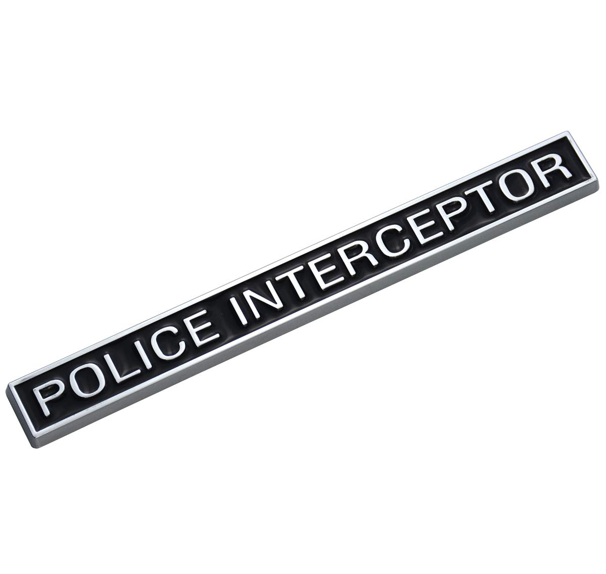 3D Emblems Trunk Nameplate Badge Sticker Decal Replacement for Ford Explorer EmbRoom Police Interceptor Emblem 2pcs Red