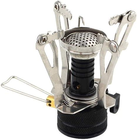 Picnic butano Gas Grabadora, portatil camping Mini Acero ...