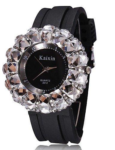 X & F kaixin gran Dial Diamond Rhinestone Relojes grandes de las mujeres moda reloj de