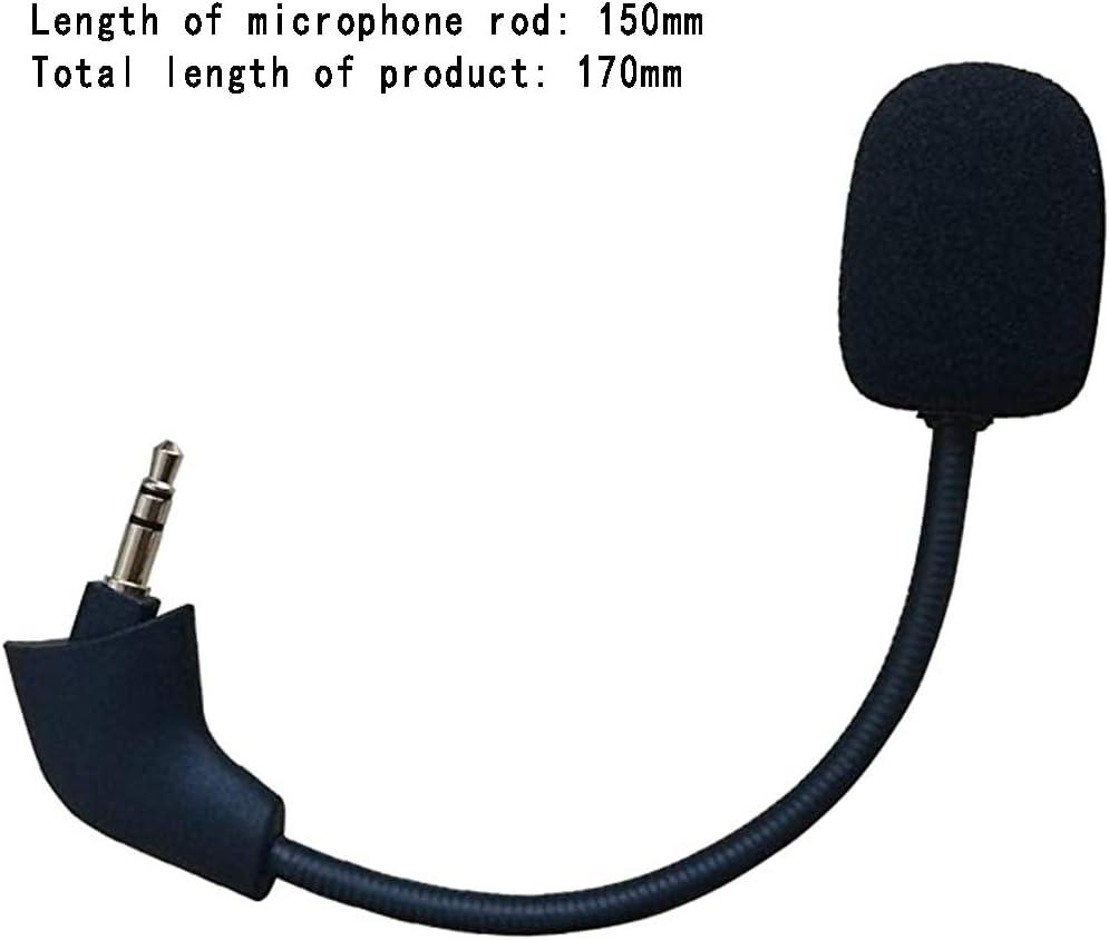 Casque de Jeu Portable Accessoires Microphone Cloud X et Cloud II DEDC Microphone de Remplacement Compatible avec Hyper X Cloud