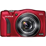 Fujifilm FinePix F750EXR Digital Camera (Red)