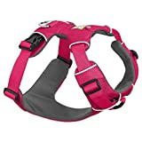Ruffwear - Front Range No-Pull Dog Harness with Front Clip, Wild Berry, Large/X-Large
