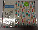 #Bedtime Icecream/popsicles/cupcakes TWIN Sheet Set