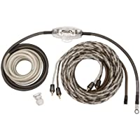 The Scosche-EFX REVOPAK8 8-Gauge Revo Series Silver/Black Single Amp Power Audio Kit is perfect for any basic stereo installation